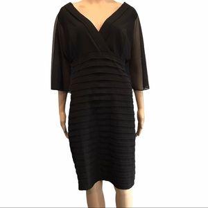 Laura Plus black dress size 16